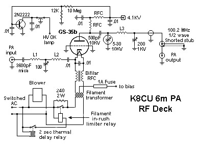 Partial RF Deck Schematic